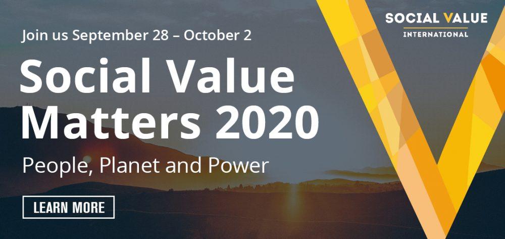 Social Value Matters 2020