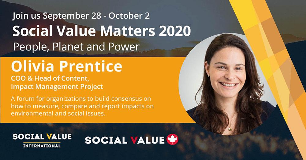 SVM2020 – Speaker Profile – Olivia Prentice